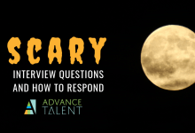 4 Scary Interview Questions (Infographic)