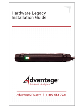 Legacy Install Guide - Advantage GPS