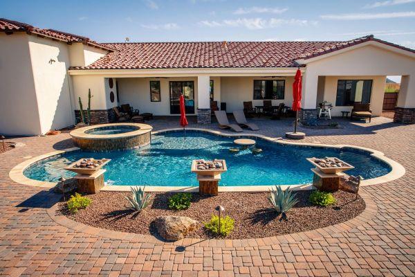 lake havasu custom swimming pool