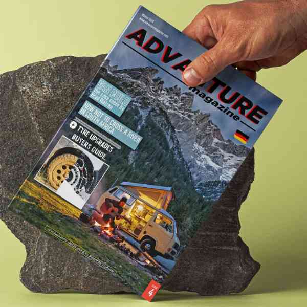 Advanture Magazine issue 04 DE print edition