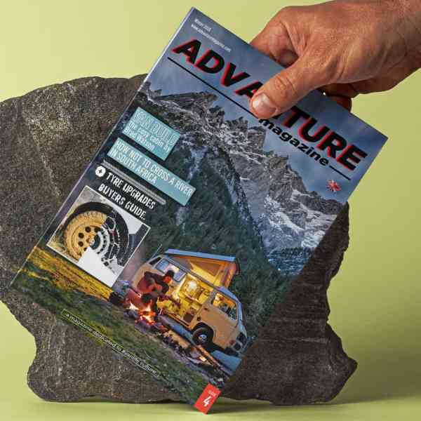 Advanture Magazine issue 04 EN print edition