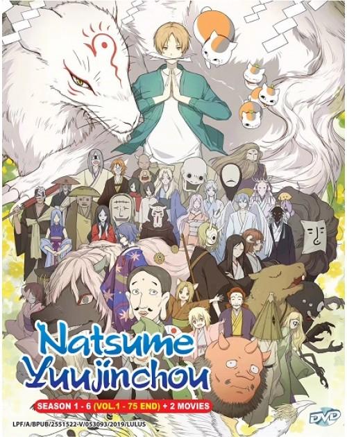 Natsume Yuujinchou Season 1-6 DVD