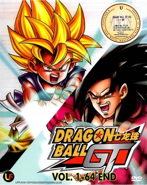 DRAGON BALL GT (TV 1 - 64 END) DVD