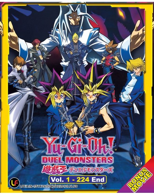 YU GI OH ! DUEL MONSTERS (TV 1 - 224 END + MOVIE)