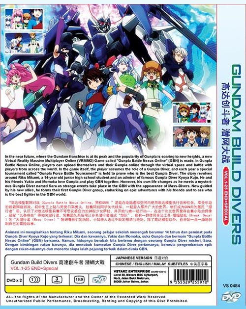 GUNDAM BUILD DIVERS VOL.1-25END