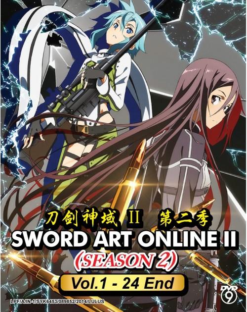 SWORD ART ONLINE SEASON 2 (VOL.1-24 END)
