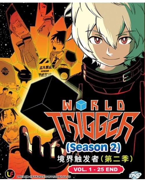 WORLD TRIGGER SEASON 2 VOL.1-25 END