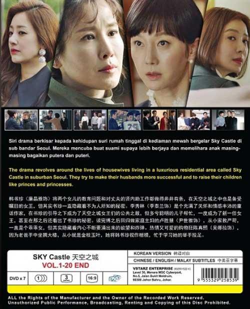 Sky Castle DVD BACK