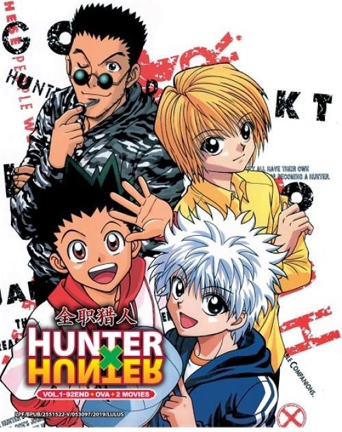 Hunter X Hunter DVD