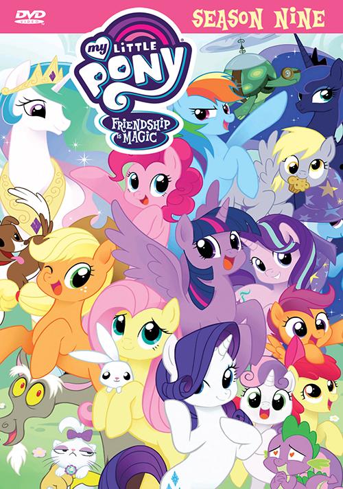 My Little Pony: Fiendship Is Magic Season 9 DVD