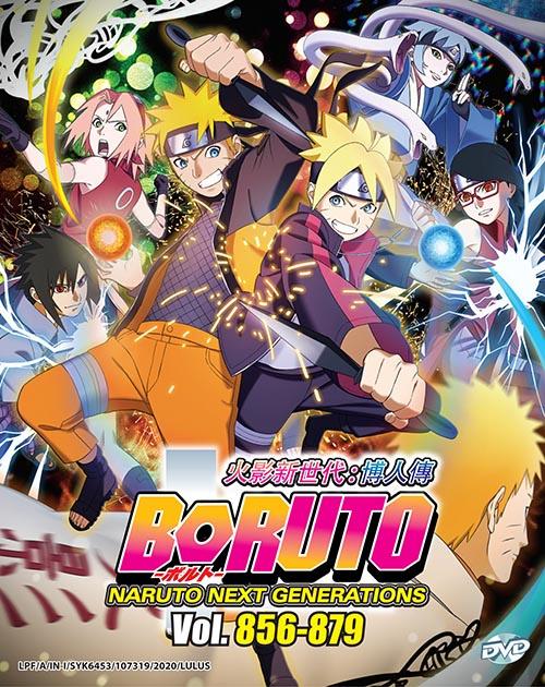 Boruto: Naruto Next Generations DVD