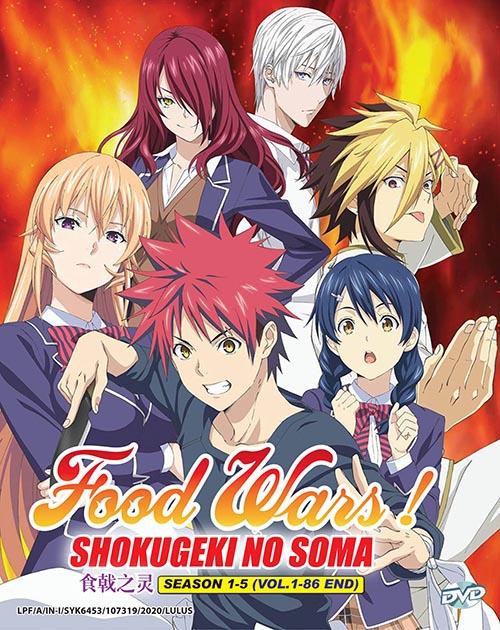 Food Wars! Shokugeki No Soma Season 1-5