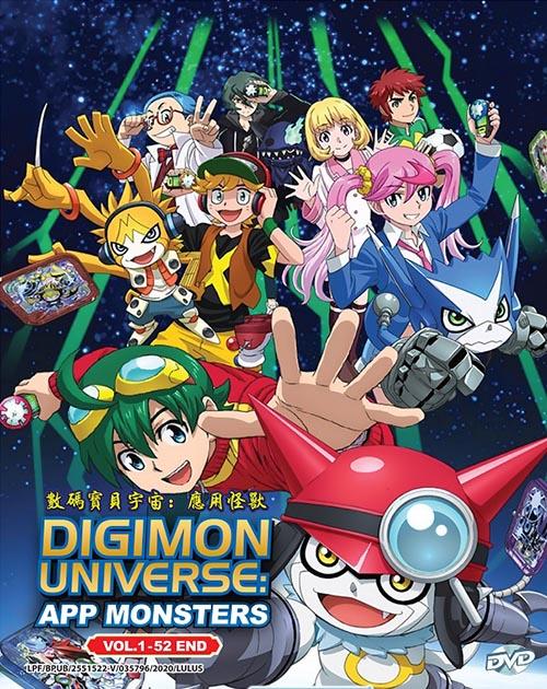 Digimon Universe: App Monsters Vol.1-52 End