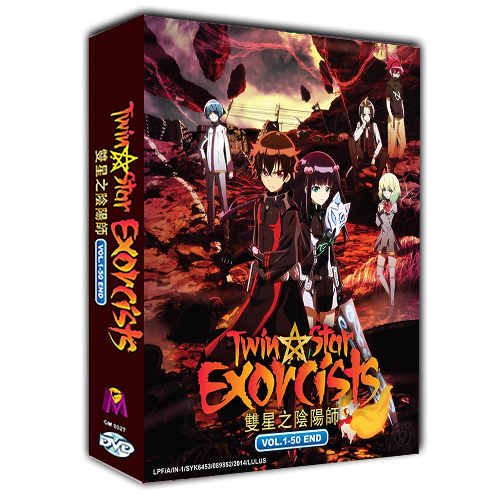 Twin Star Exorcists Vol.1-50 End DVD