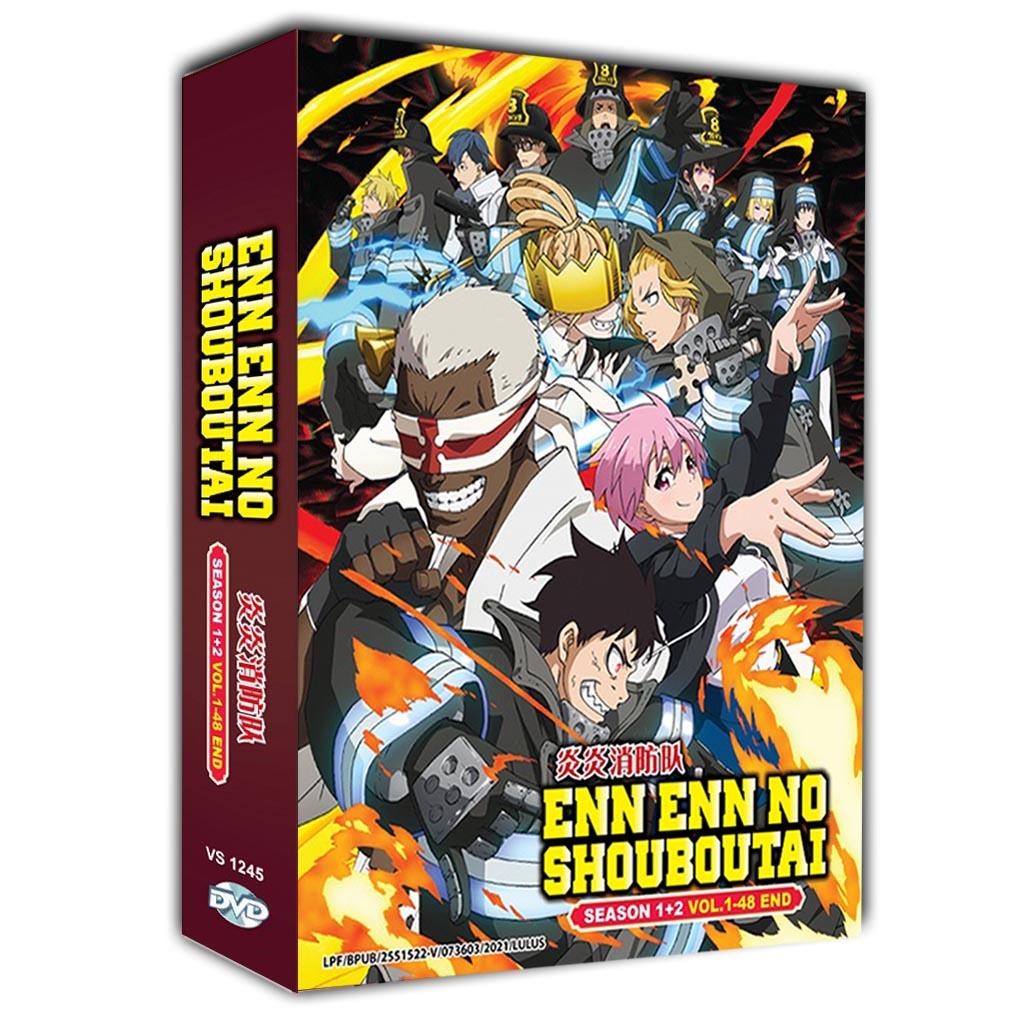 Enn Enn no Shouboutai Sea 1-2 Vol.1-48 End DVD