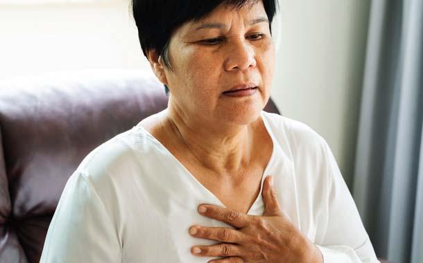 심장 두근거림