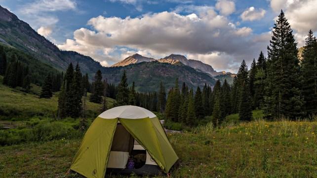 West Maroon Pass & Geneva Lake