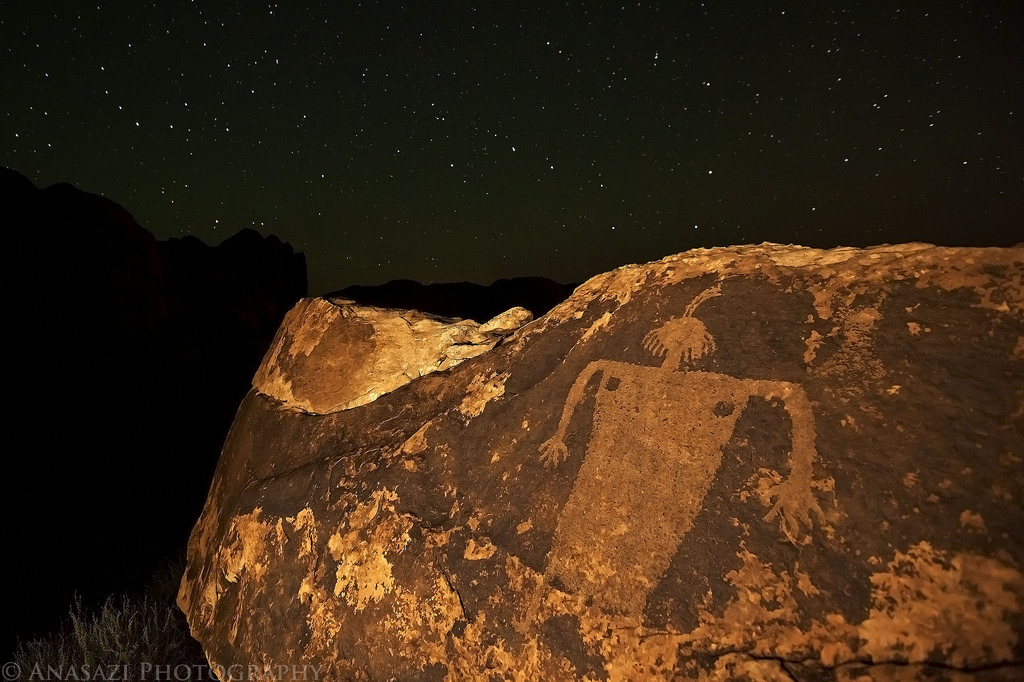 Moab Maiden Night Photography