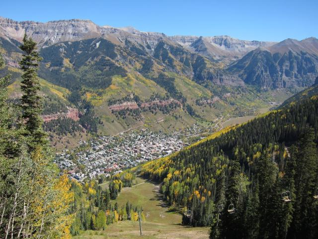 Telluride, Mountain Village & Ridgway