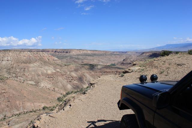 Escalante Rim, Dry Mesa & East Creek