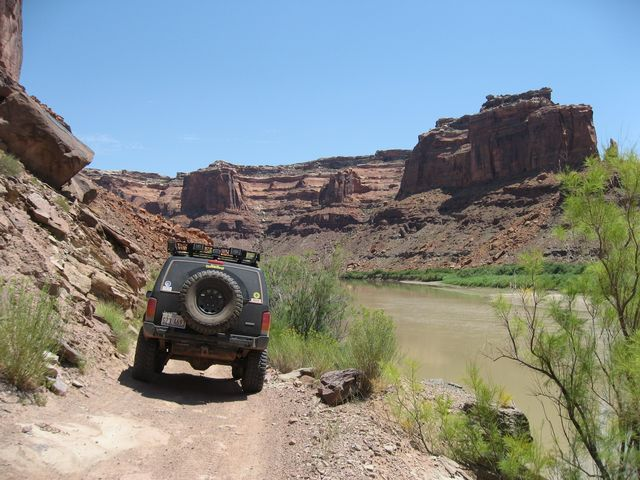 Moab to Green River