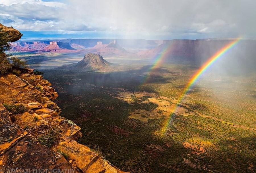 Castle Valley Rainbow