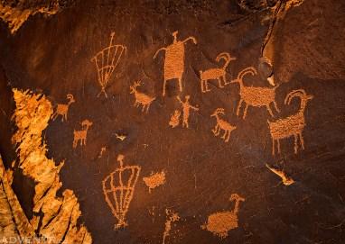 Behind The Rocks Petroglyphs