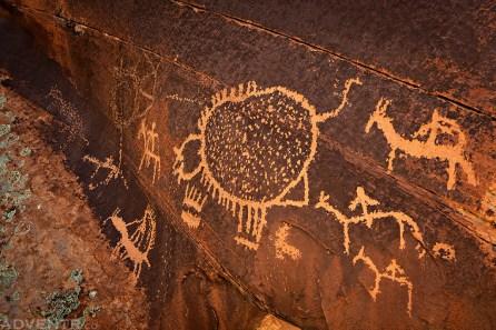 Big Dominguez Canyon Petroglyphs