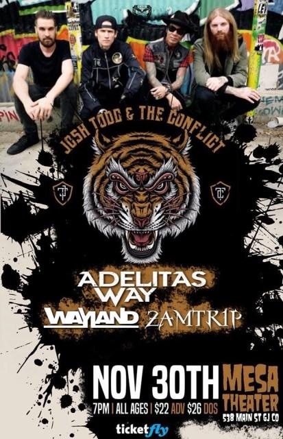 Adelitas Way 2017