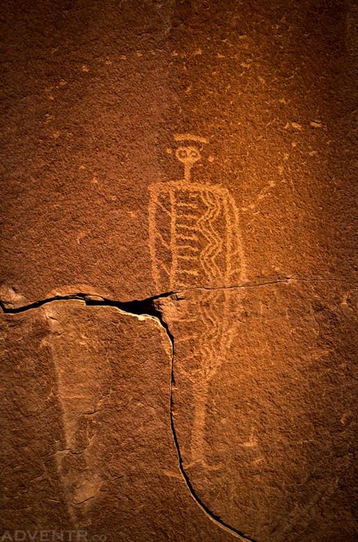 Barrier Canyon Style Petroglyph