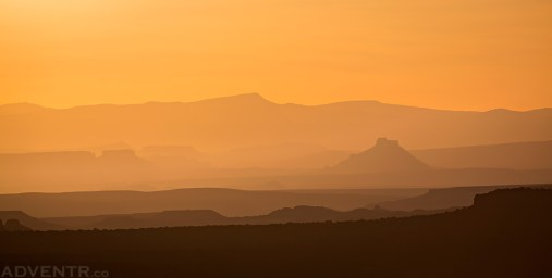 Factory Butte from The Neck