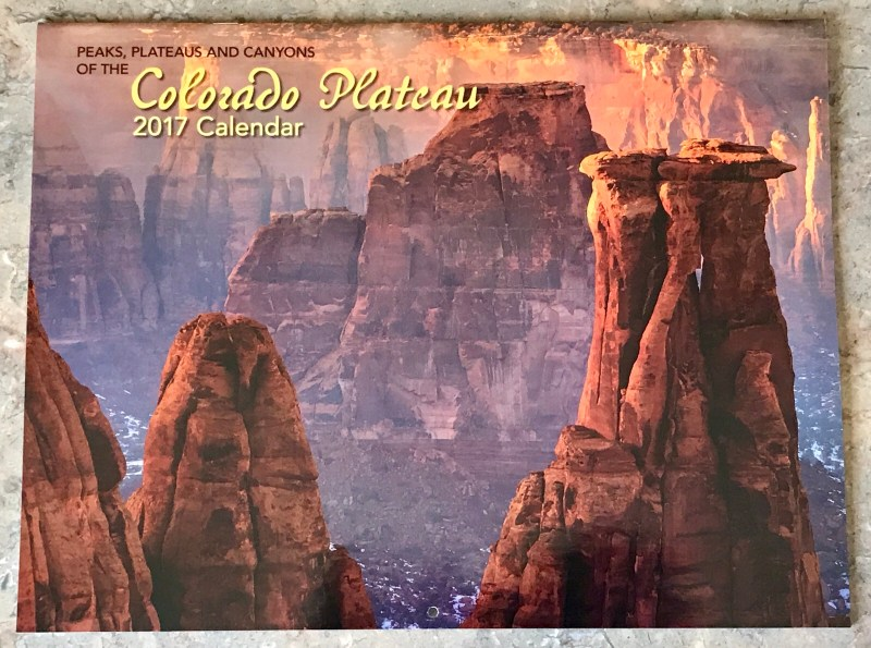 2017 Colorado Plateau Calendar