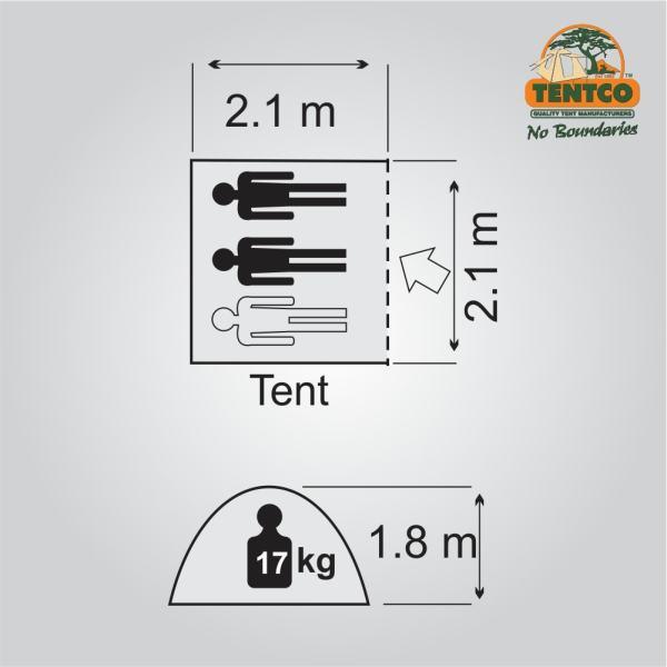 Plan Tentco Ranger Safari bow tent