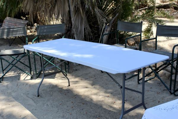 Table PE large, foldable