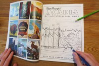 Coloring Your Way Through the National Parks - adventure ...
