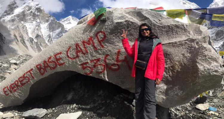 Swati's journey to Everest Base Camp