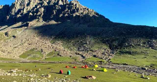 Kashmir Great Lakes campsite with a view, adventure-pulse
