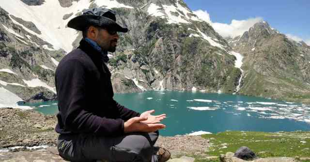 Prepare for a trek_Adventure-Pulse_meditating