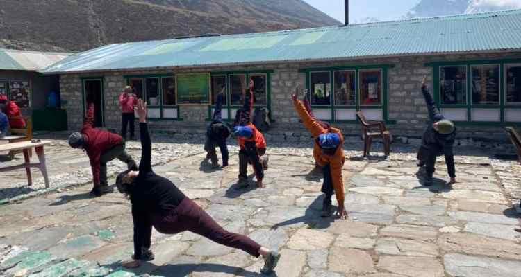 Prepare for a trek_Adventure-Pulse_yoga at Thukla