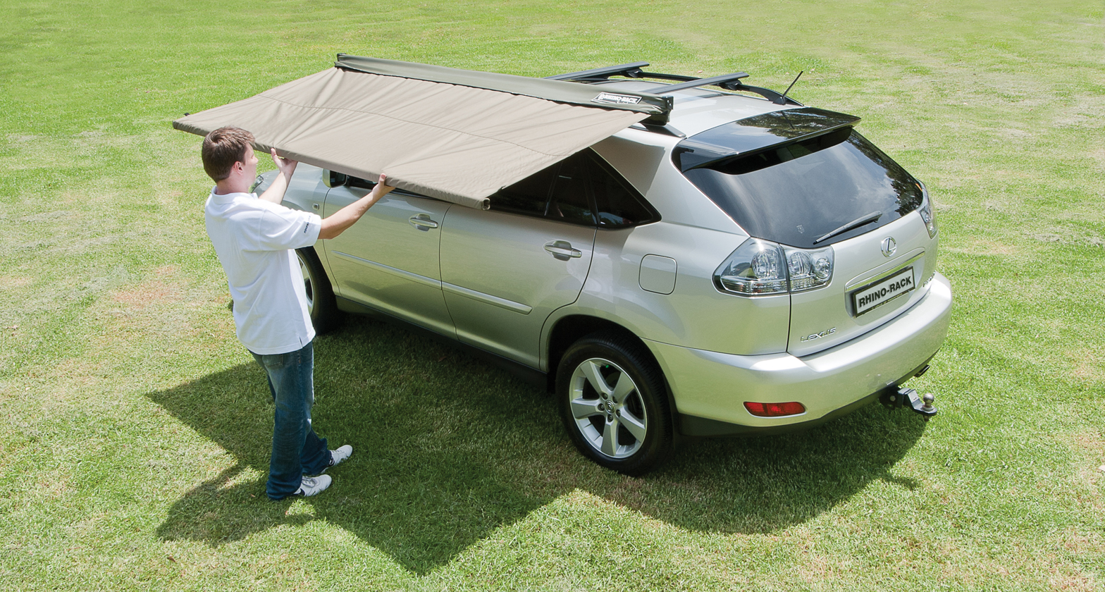 rhino rack sunseeker 2 5 vehicle awning