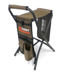 Oztent King Kokoda Chair Review Design Wing Bi-fold Table - Adventure Ready
