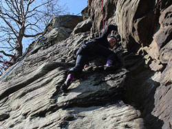 adventure activities, wales, rock climbing & abseiling