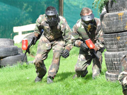 team away & incentive days, paintballing, brecon beacons