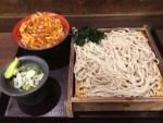 かき揚げ丼セッ/嵯峨谷 歌舞伎町店 蕎麦超人044玉目