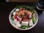 ある日の豆腐サラダ 緩やかなLCD01
