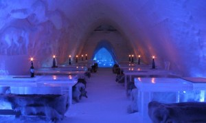 Stay at an Ice Hotel: Snow Village in Montreal