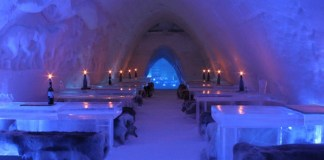 The Ice Restaurant at Snow Village