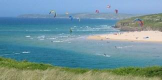 Kite Surfing in Cornwall