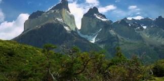 Patagonia's Torres del Paine Mountains in Peri
