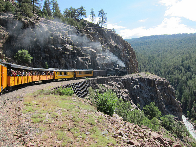 Durango Train Embankment
